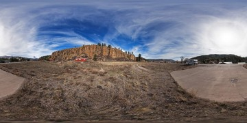 Panorama Blick auf Rocky Mountains 7 - Panoramen Übersicht