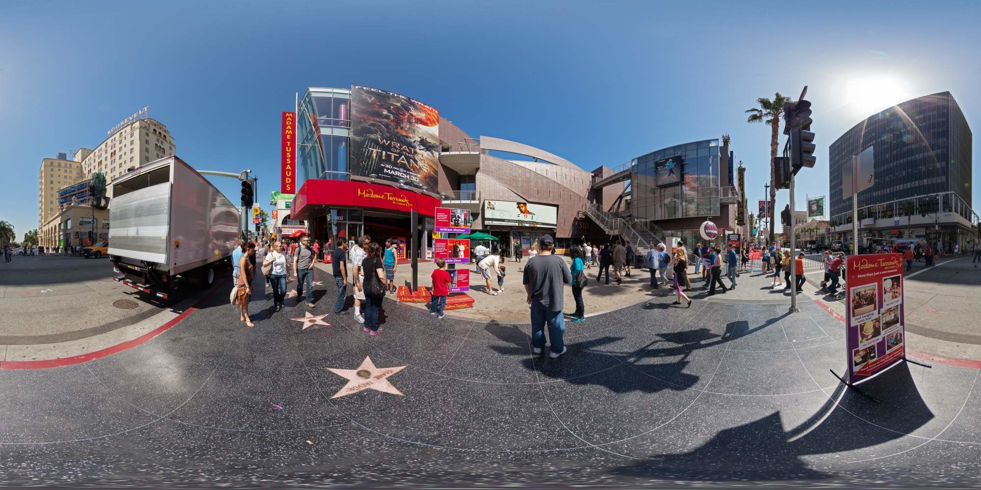 Panorama Los Angeles Walk of Fame 7