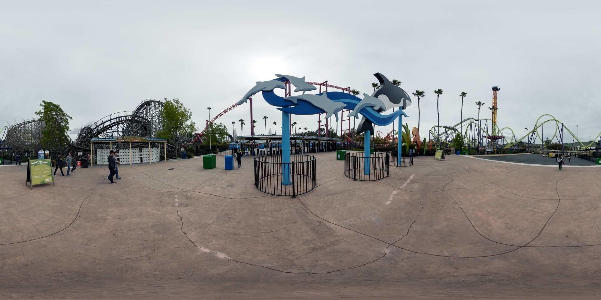 Panorama Six Flags Discovery Kingdom 1