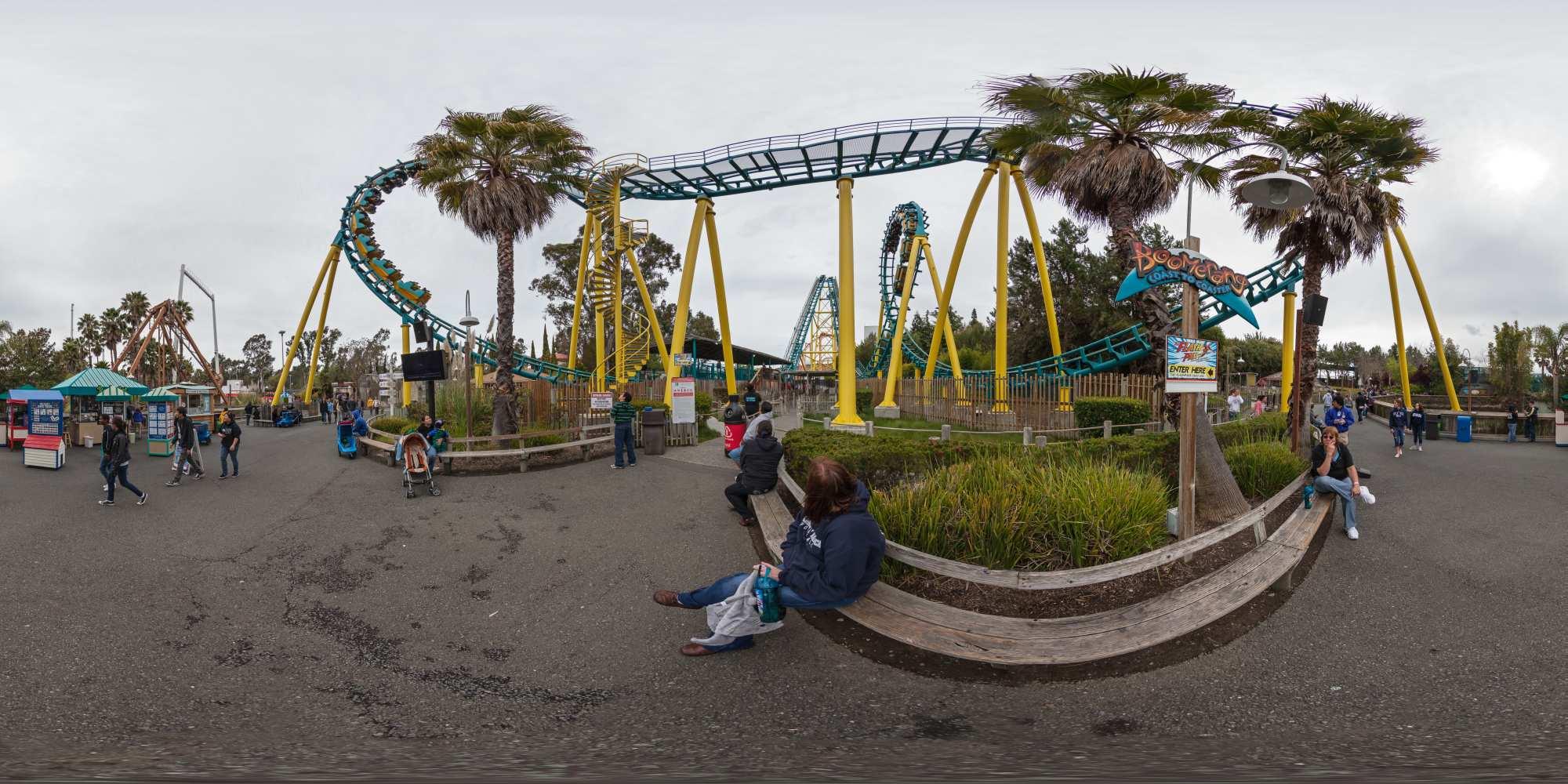 Six Flags Discovery Kingdom San Francisco  1