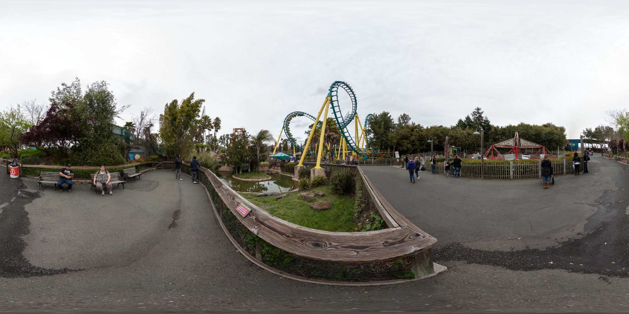 Panorama Six Flags Discovery Kingdom 3