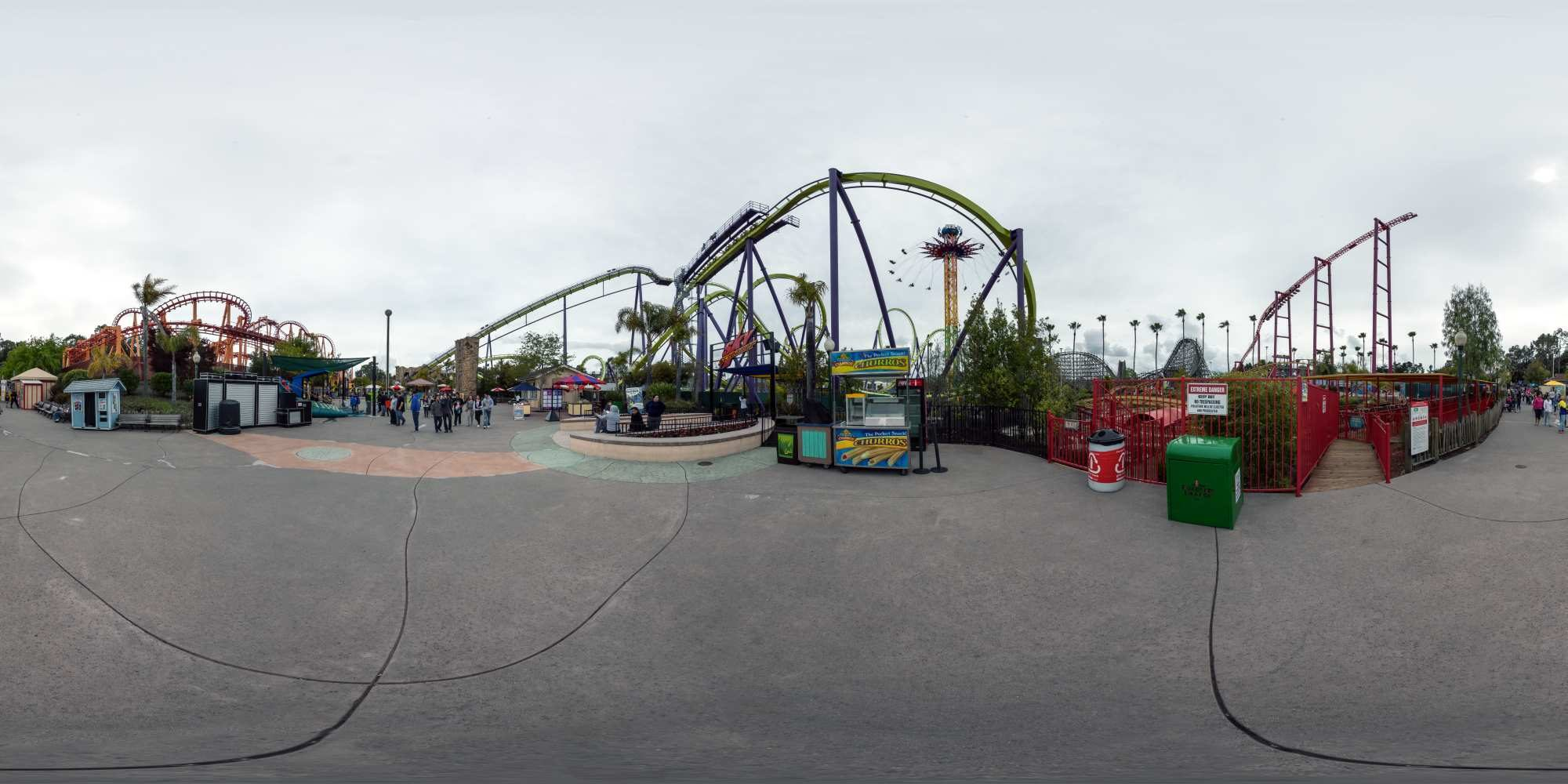 Panorama Six Flags Discovery Kingdom 5