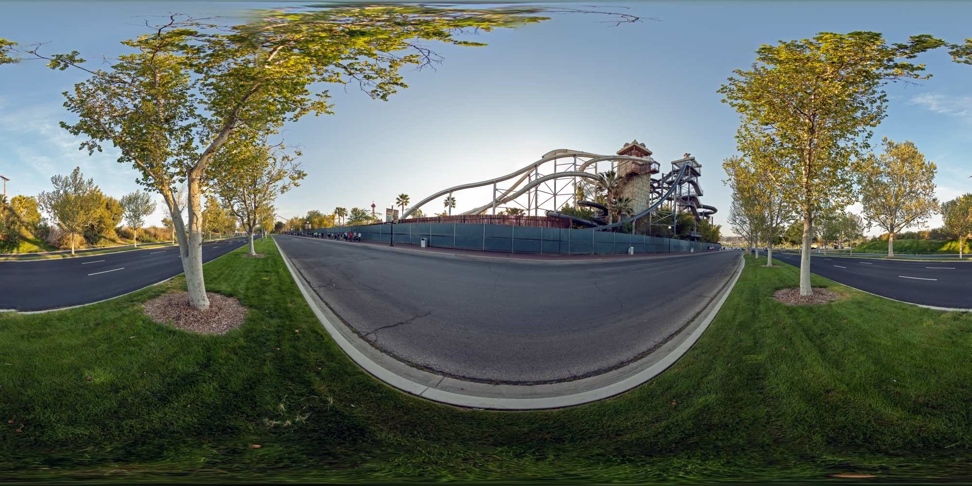 Panorama Six Flags Magic Mountains 1