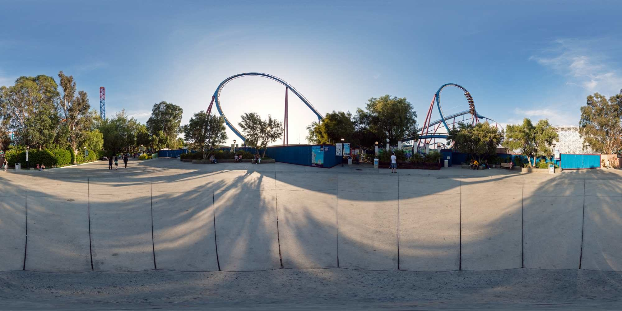 Panorama Six Flags Magic Mountains 14