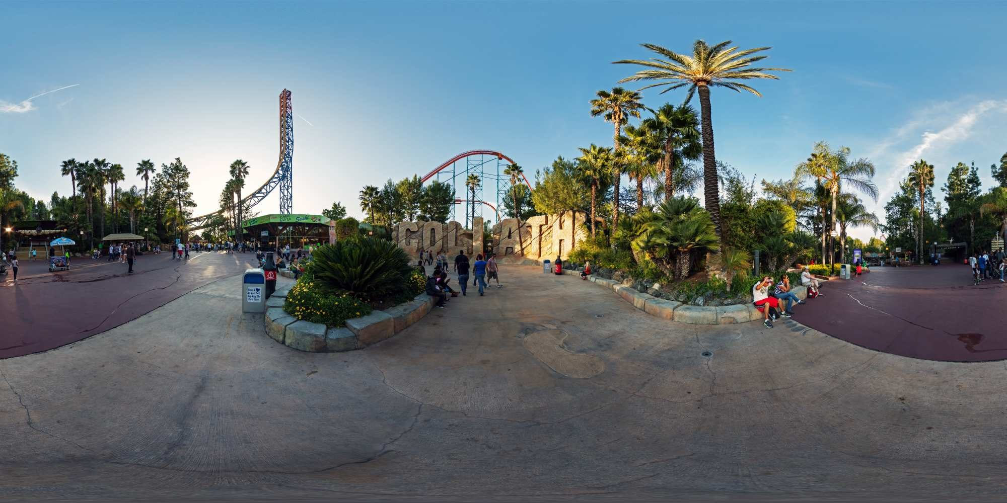 Panorama Six Flags Magic Mountains 15