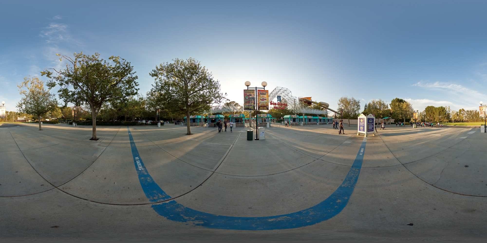 Panorama Six Flags Magic Mountains 19