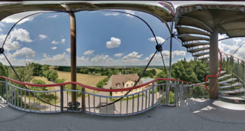 Gigapixel-Panorama Lichtenstein