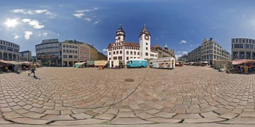 Chemnitz Markt City - Panoramen Übersicht