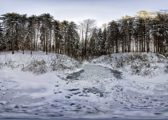 Erzgebirge Winter-Panoramen 2