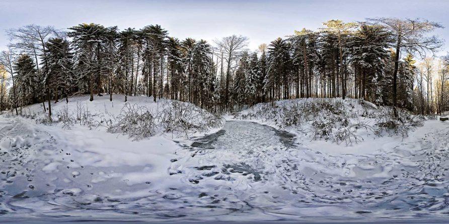 Winterzeit im Erzgebirge