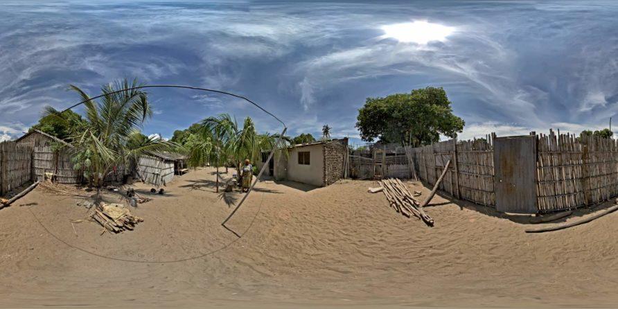 Pemba Stadt im Norden von Mosambik