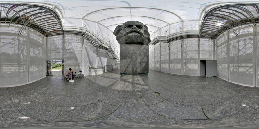 Karl Marx Monument in Chemnitz