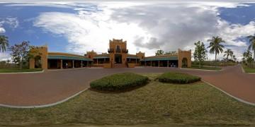 Mocambique Pemba Beach Hotel 1 - Panoramen Übersicht