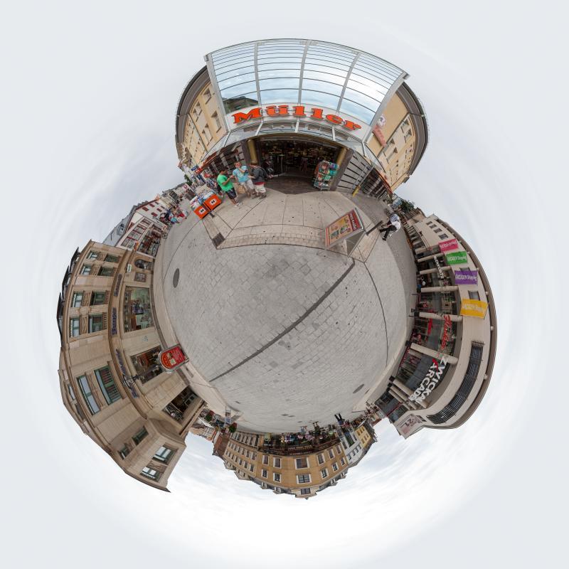 Panorama Stadt Zwickau  Arcaden