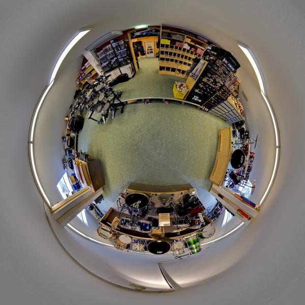 Panoramen Musikhaus Markstein Drums