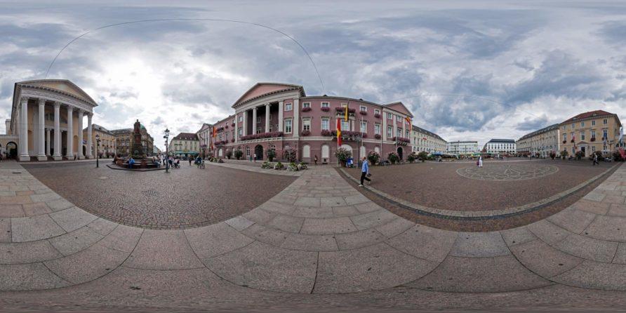 Sphärische Panoramen Karlsruhe
