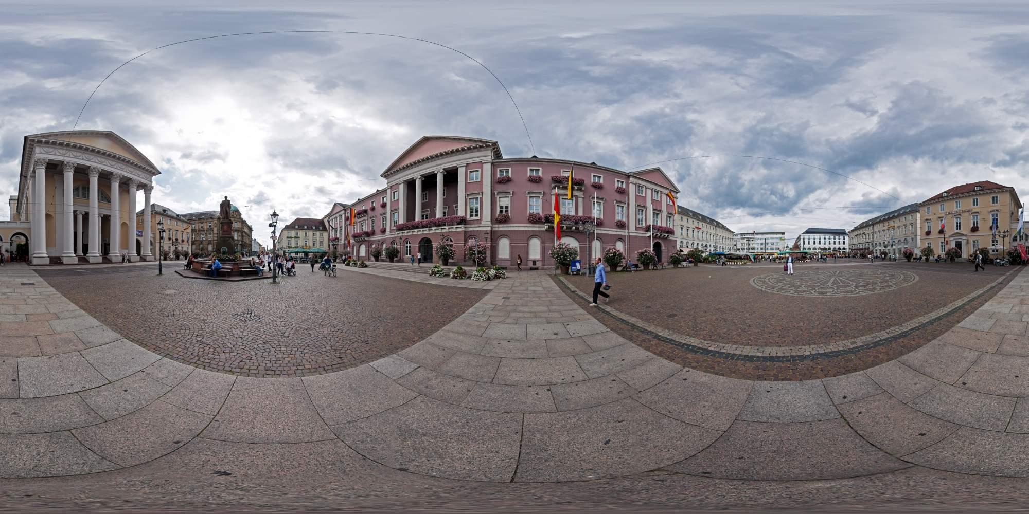 Sphärische Panoramen Karlsruhe  1