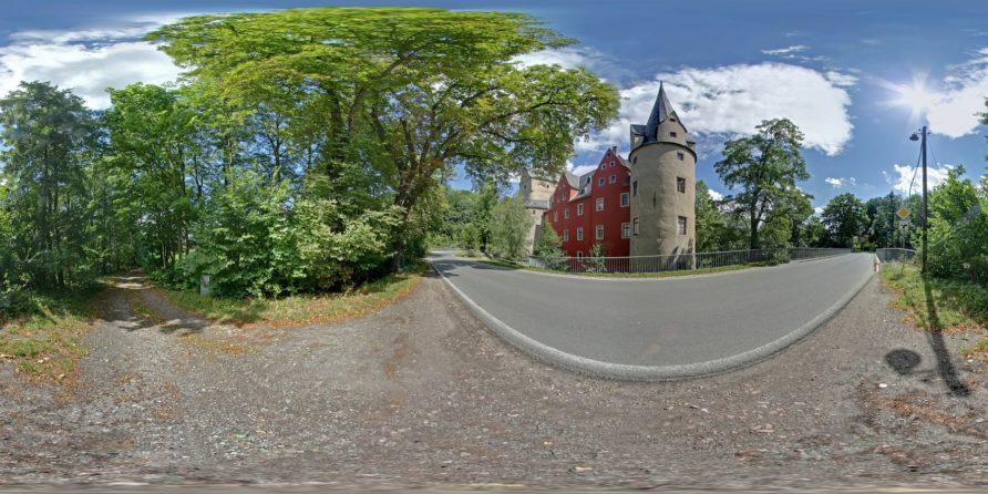 Hartenstein Burg Stein Panoramen