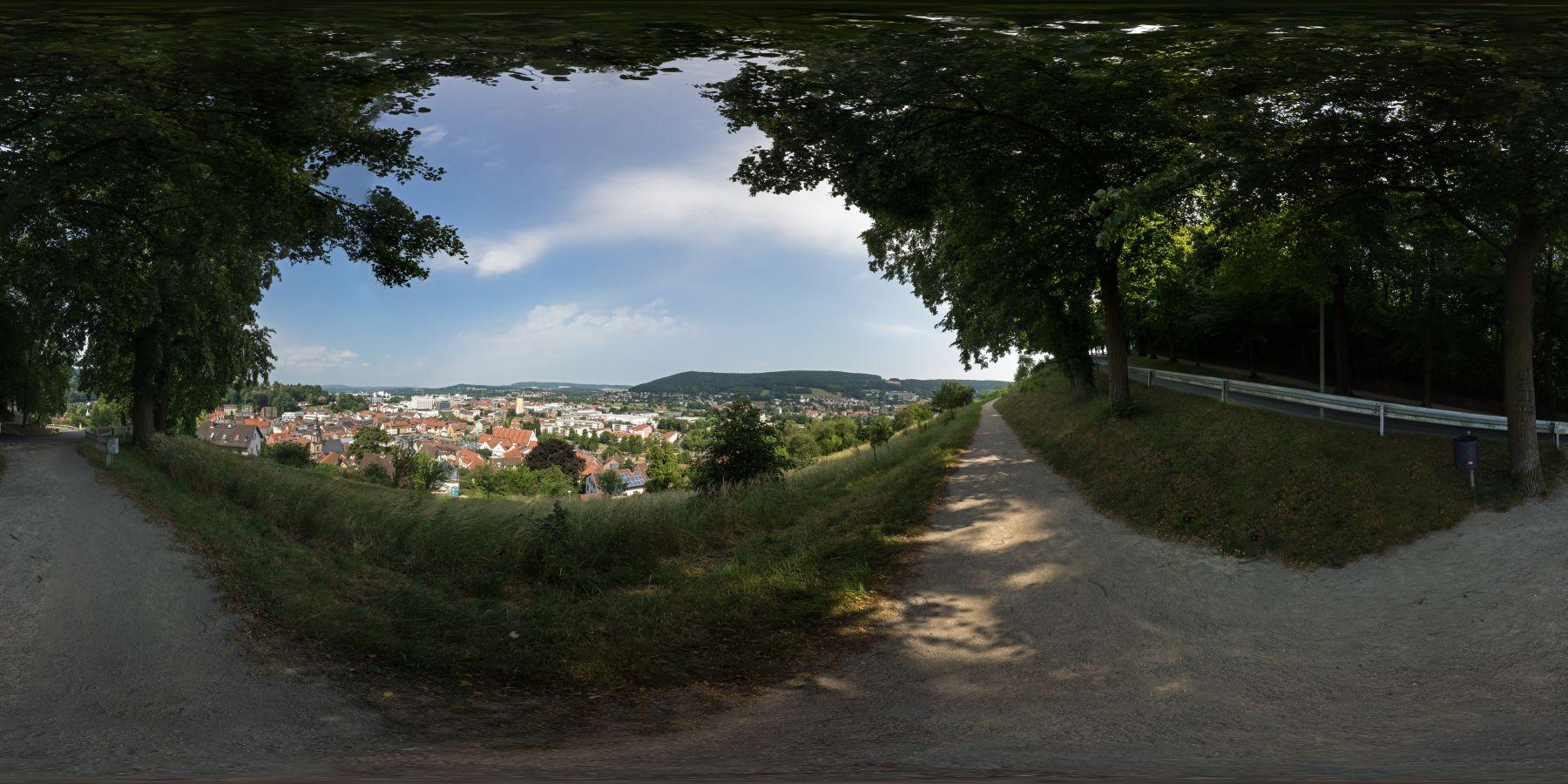 Blick auf Kulmbach