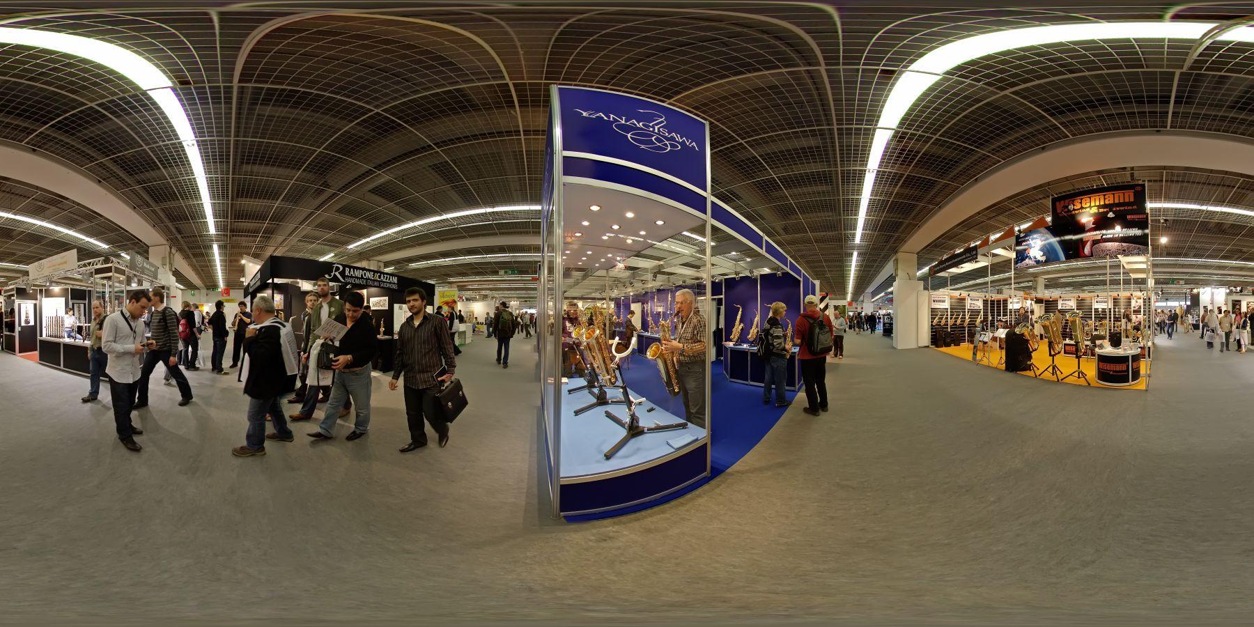 Panorama Musikmesse Frankfurt 1