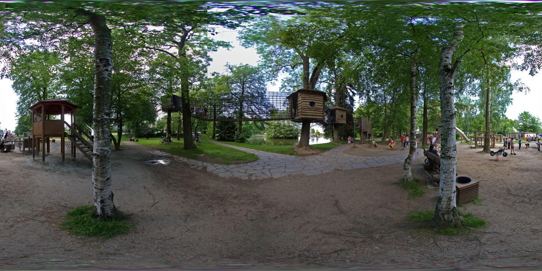 Panorama Waldspielplatz Stollberg 1