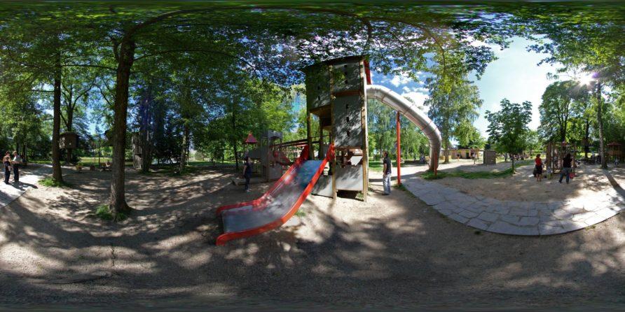 Stollberg Spielplatz am Walkteich