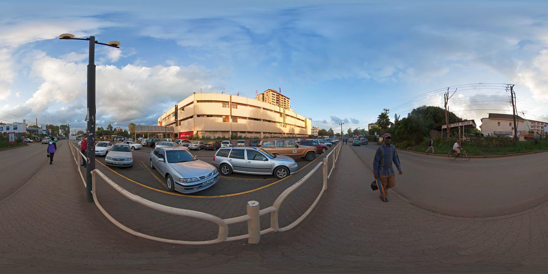 Panorama Kenia Nairobi Yaya Center