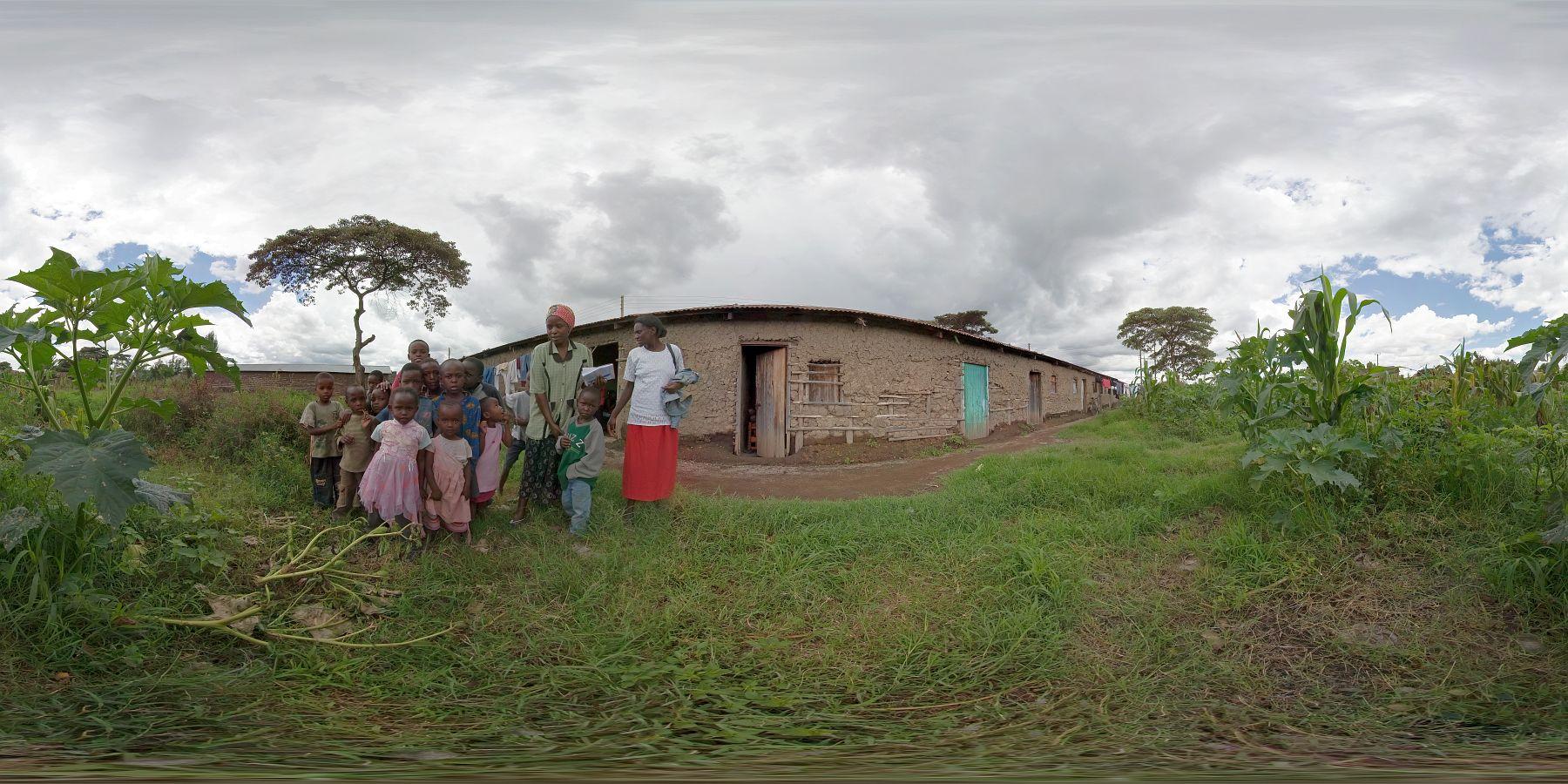 Panorama Kenia Nakuru Aidsfrauen 1
