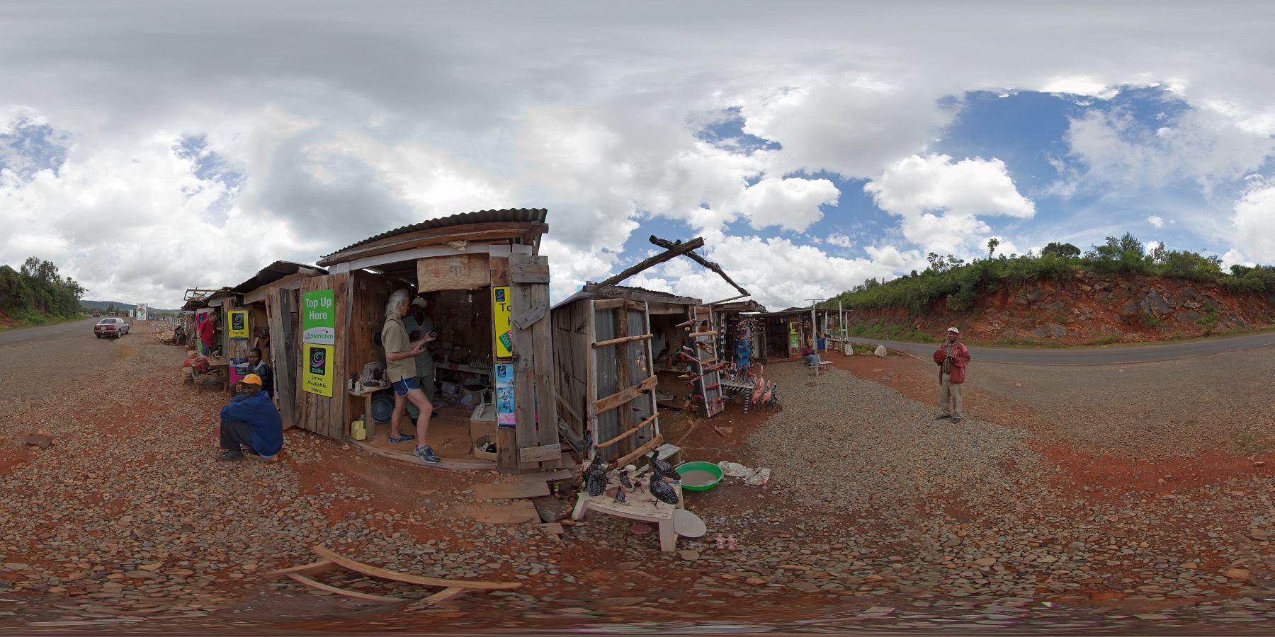 Panorama Kenia Nakuru Ausblick Ebene 5