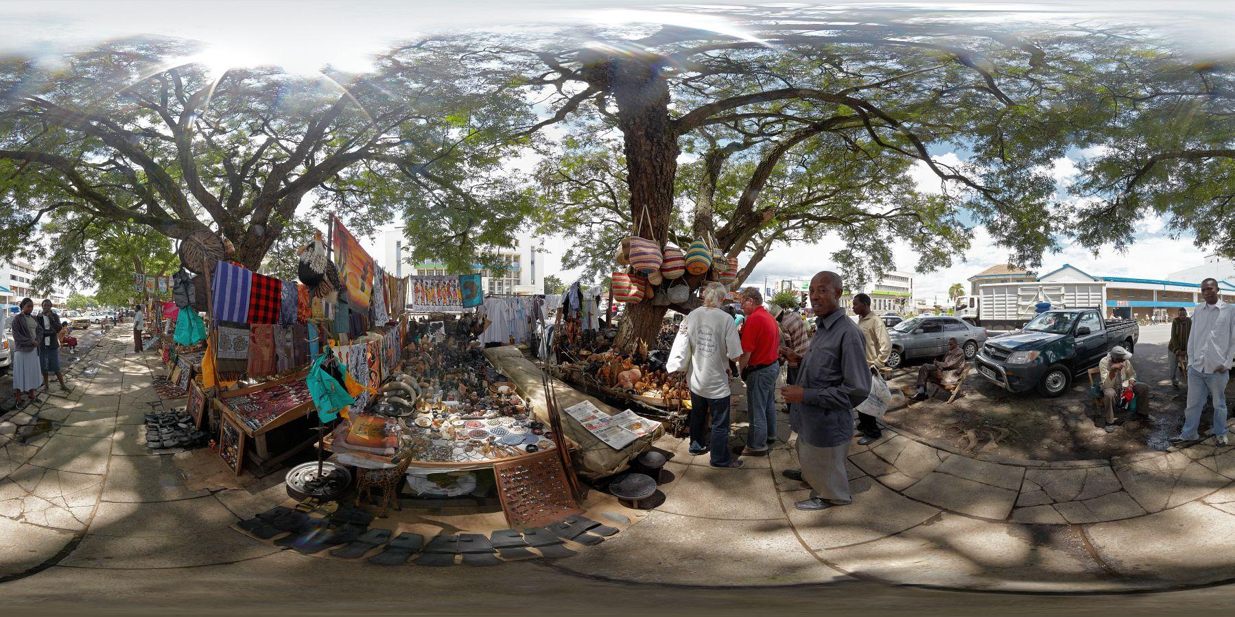 Panorama Kenia Nakuru Schitzermarkt 3