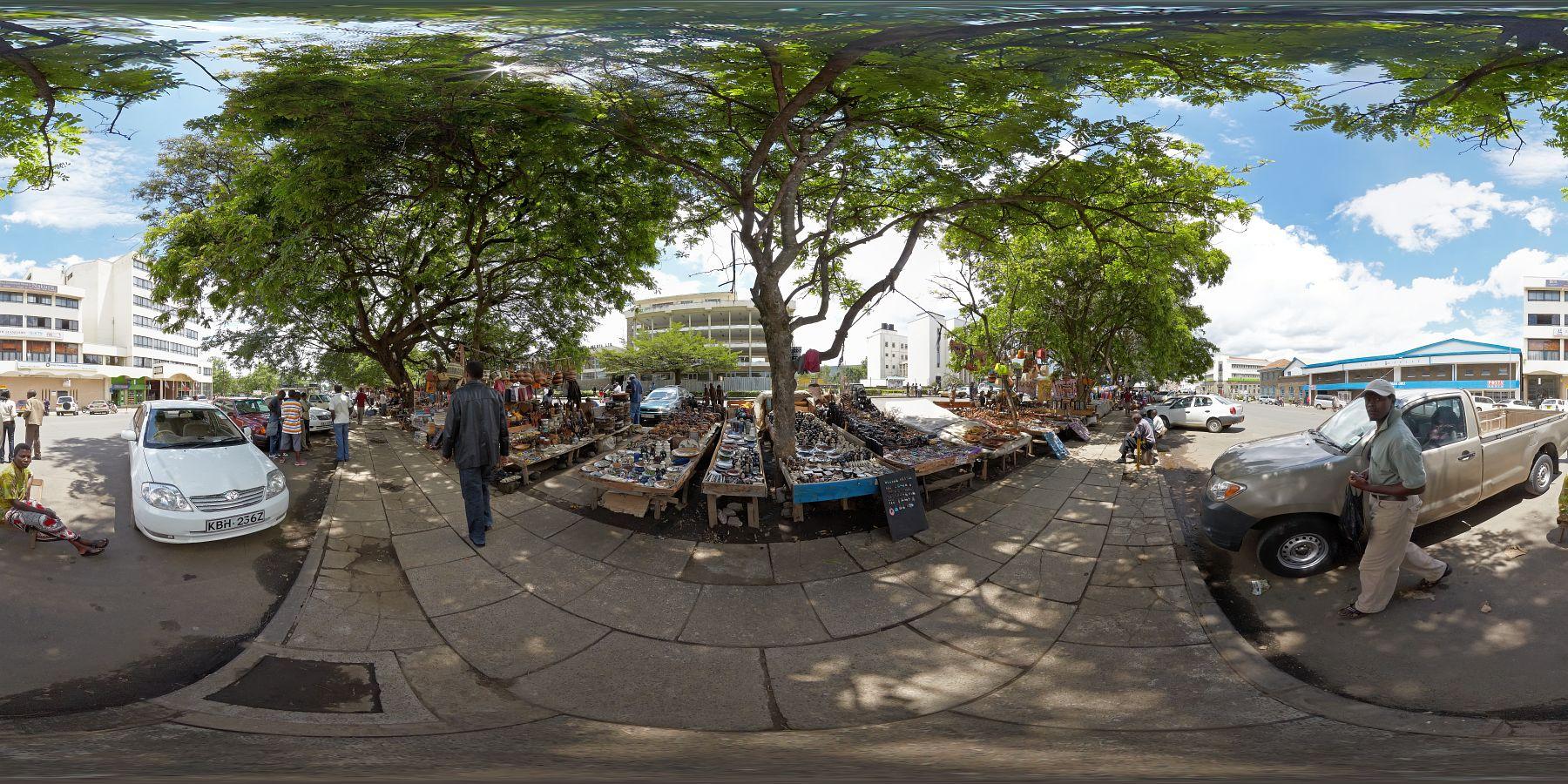 Panorama Kenia Nakuru Schitzermarkt 4