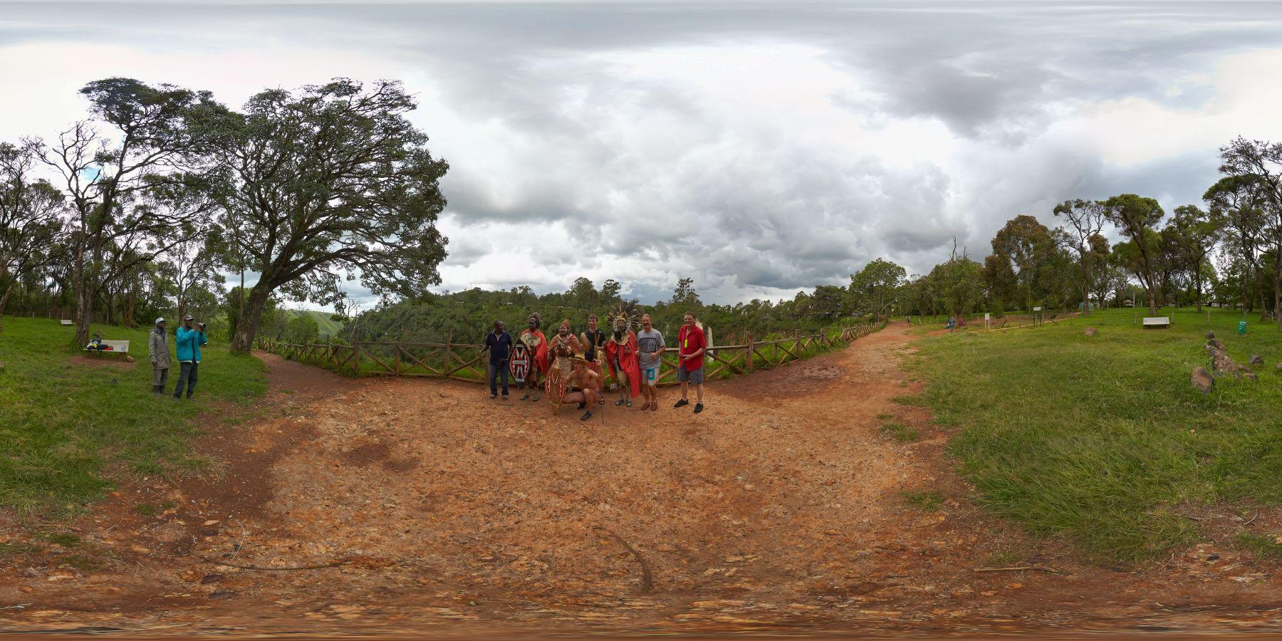 Panorama Kenia Thompson_Wasserfall 12