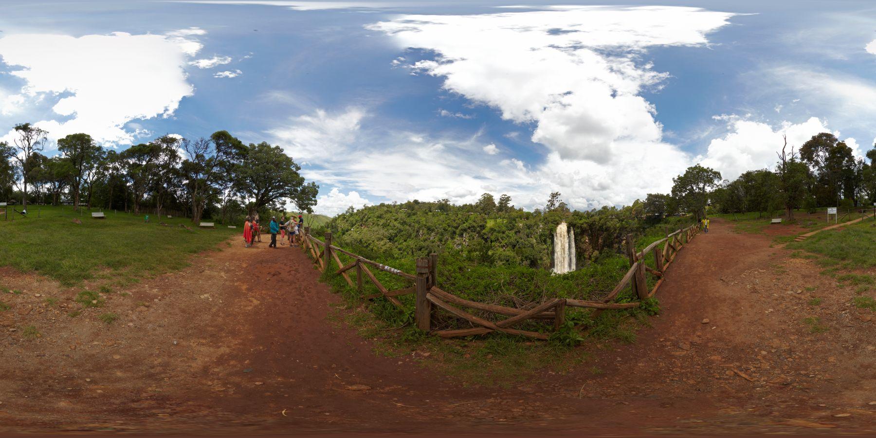 Panorama Kenia Thompson_Wasserfall 2
