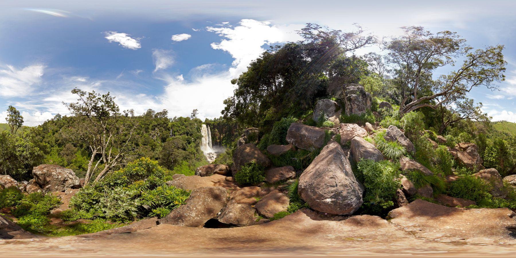 Panorama Kenia Thompson_Wasserfall 4
