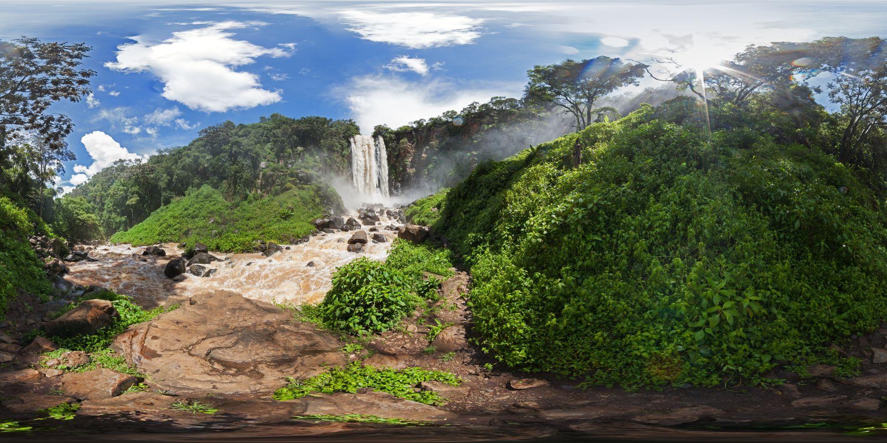 Panorama Kenia Thompson_Wasserfall 7