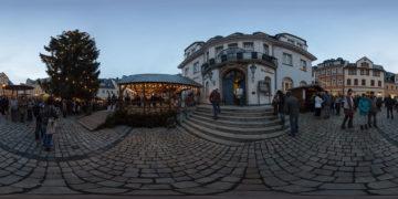 Weihnachtsmarkt-Schwarzenberg - Panoramen Übersicht